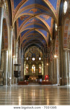 Rome - interior of Santa Maria Magiorie church