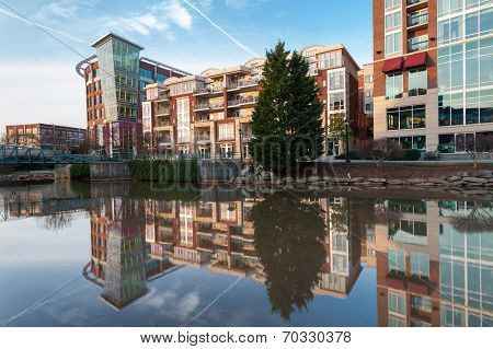 Greenville South Carolina Downtown Falls Park
