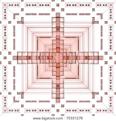 Pyramid Base Pattern Light