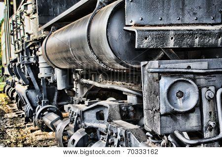 Old Railroad Train