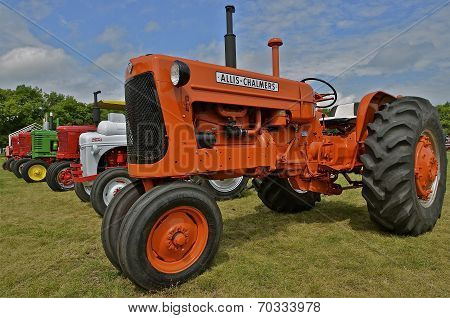 Refurbished Allis Chalmers and Various Tractors