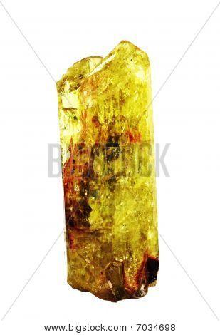 Gem Fluorapatite crystal