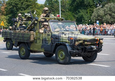 Special Forces parade