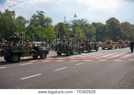 Military Convoy, Polish Forces