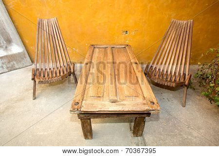 Reclaimed Material Furniture