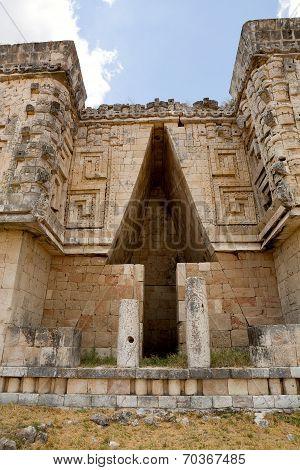 Mayan Architectural Detail