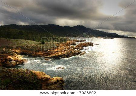 Monterey Bay Coastline