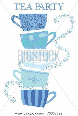 Tea Party Cups