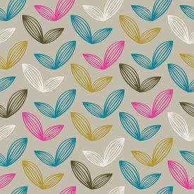 Vector Colorful abstract retro pattern 07