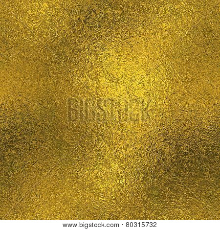 Golden Foil Seamless Texture