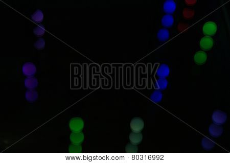 Abstract Background With Colored Bubbles