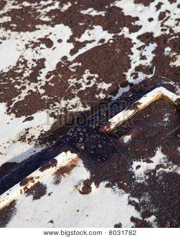 Oil Spill On Gulf Coast Beach