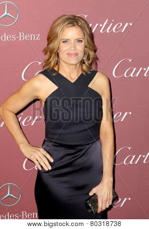PALM SPRINGS, CA - JAN 3: Kim Dickens arrives at the 2015 Palm Springs International Film Festival Awards Gala at the Palm Springs Convention Center on January 3, 2015 in Palm Springs, CA.
