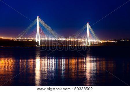 Bridge to island Russkij