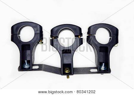 Set Of Holders For Three Sat Lnb