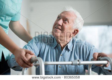 Close-up Of Aged Man