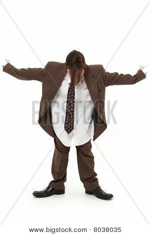 Teen In Baggy Suit