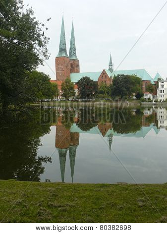 The Cathedrale of Lübeck