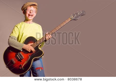 The Boy With A Guitar