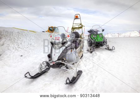 Sanitary Snowmobile