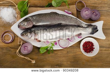 Raw  Trouts