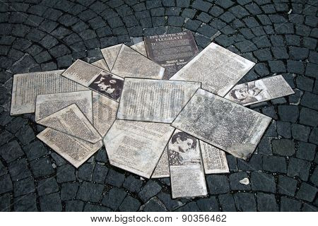 The white rose leaflets