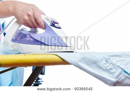 Woman Ironed Shirt
