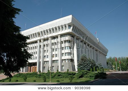 The White House Of Republic Kyrgyzstan