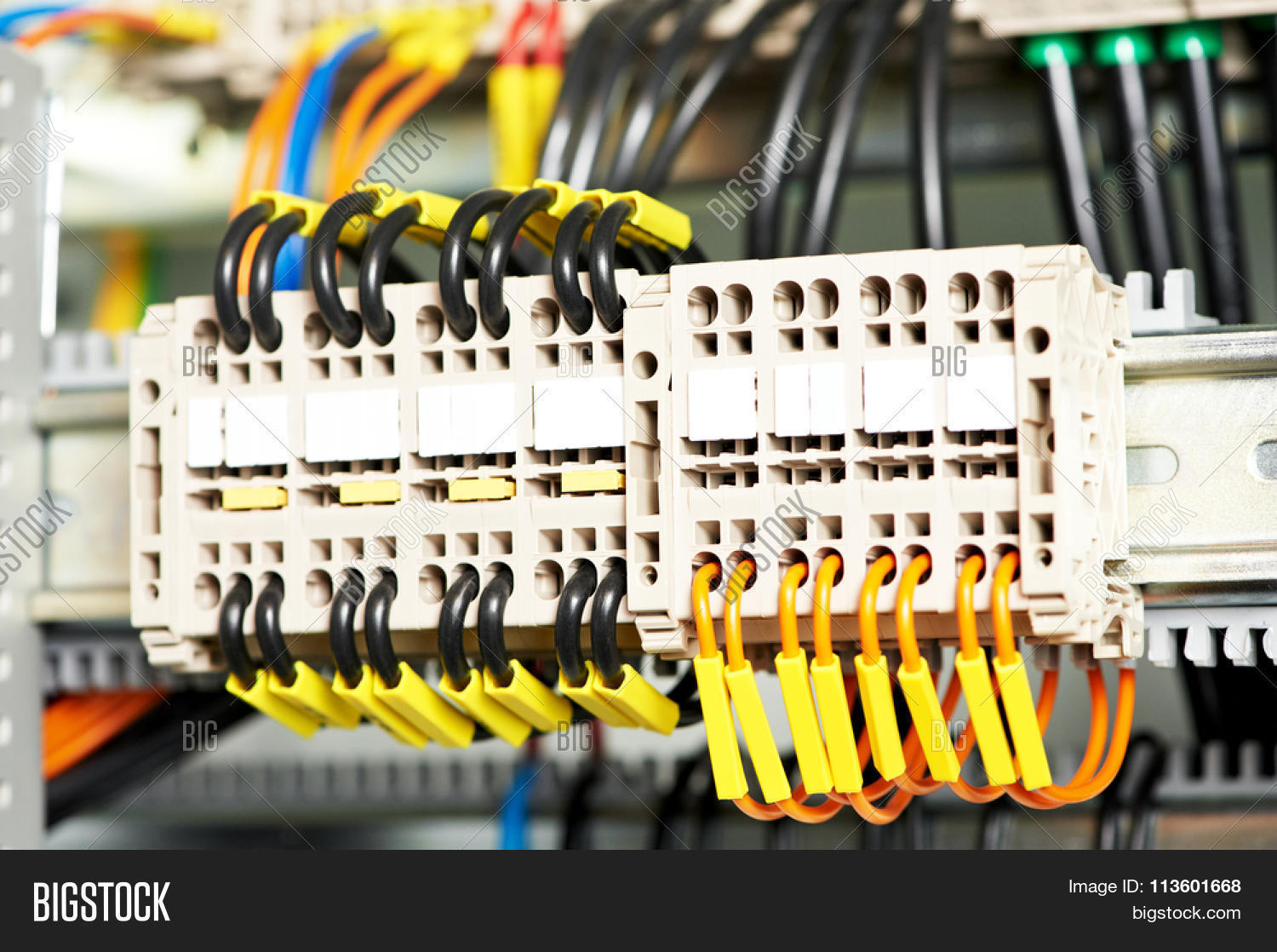 Automatic Electrical Image Photo Free Trial Bigstock Wiring Panel Board Connector Switch In Power Lines Located Inside Of An Industrial Control