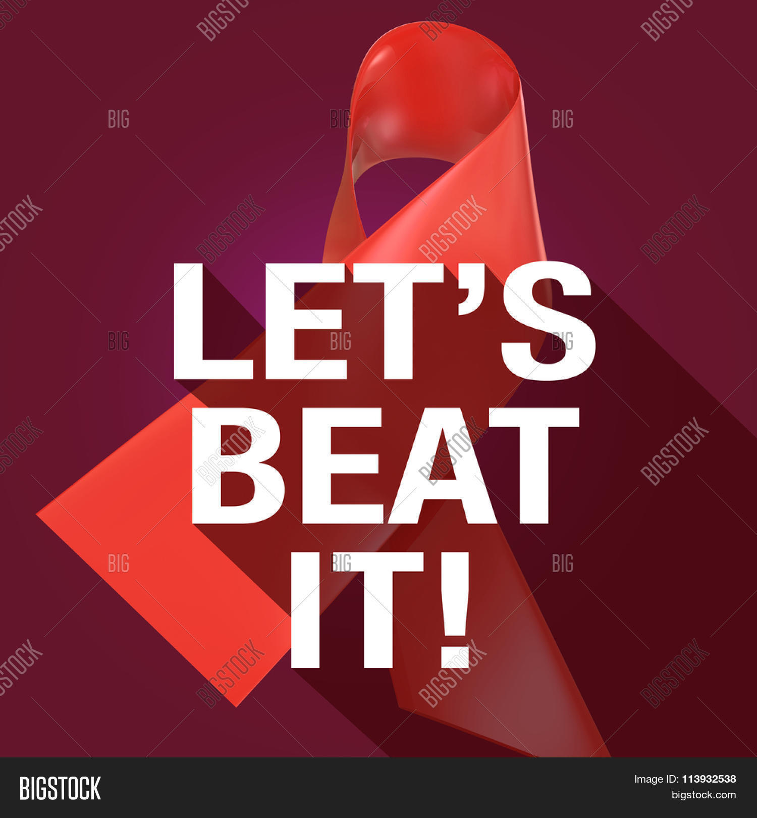 Lets Beat Words On Image Photo Free Trial Bigstock