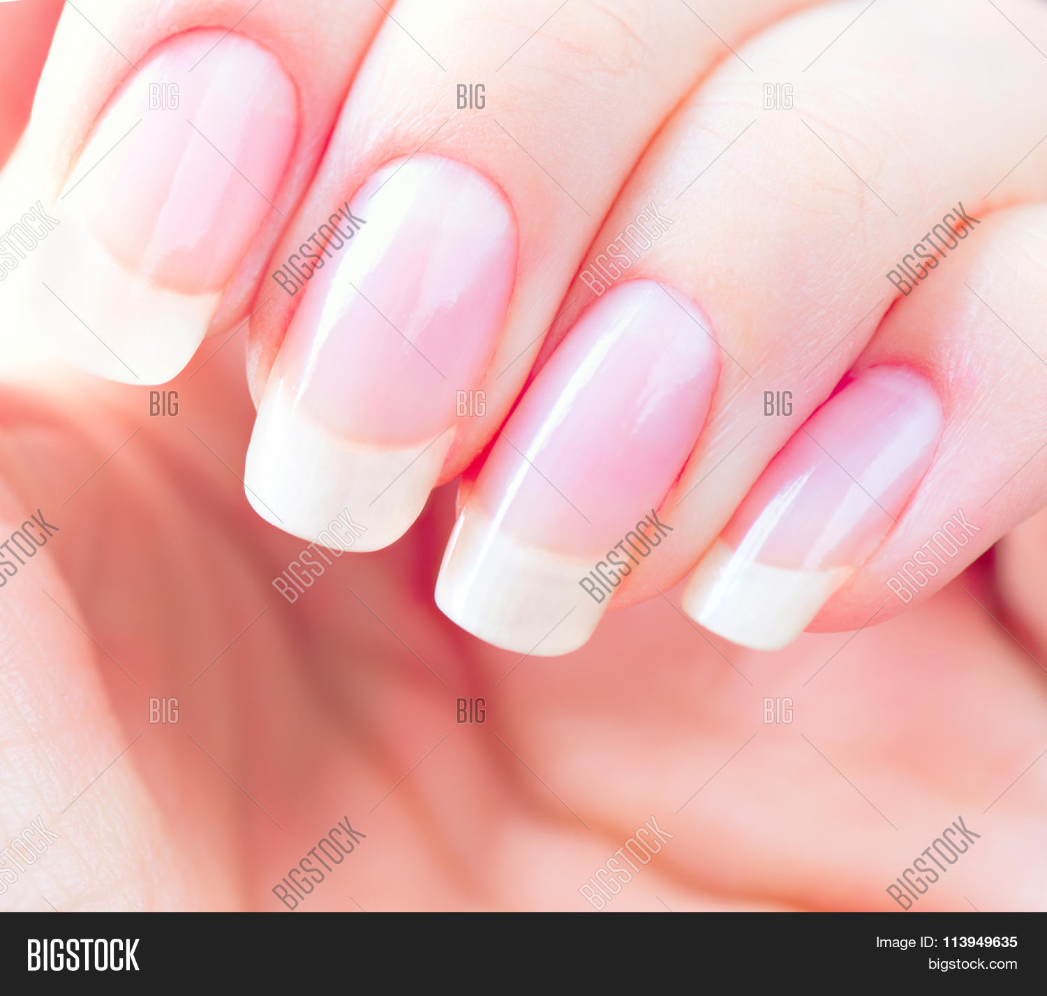 Beautiful Healthy Natural Nails. Image & Photo | Bigstock