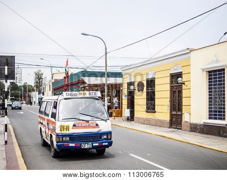 Peruvian Combis (Little Buses)