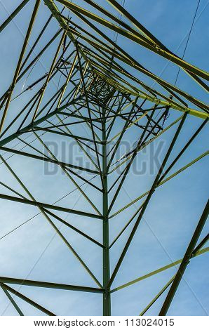 Powerlines On The Field