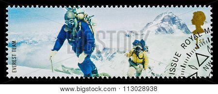 Britain Famous Explorer Postage Stamp