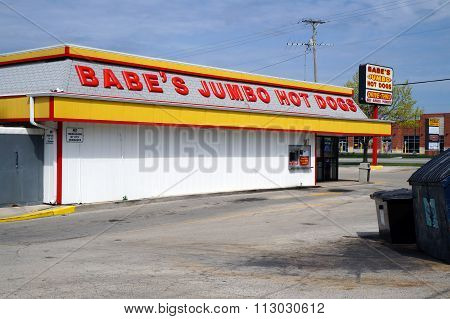 Babe's Jumbo Hot Dogs
