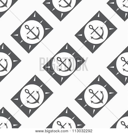Anchor Seamless Vector Pattern