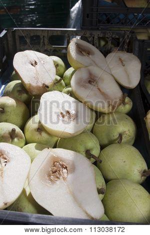Core Breakdown - Crate Of Diseased Pears