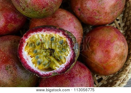 Fresh Tropical Fruit - Maracuja
