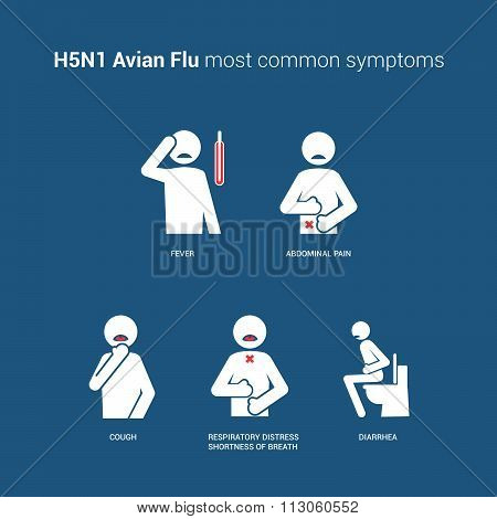 H5N1 Avian Flu Symptoms