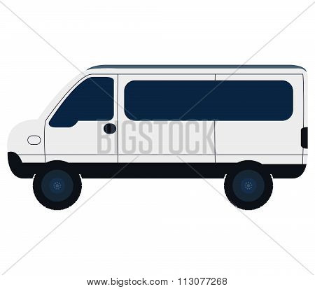 icon vans colored illustrated on a white background