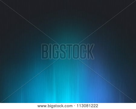 Abstract dark blue glow background.
