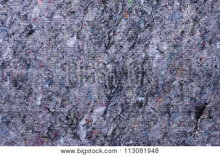 Floor cleaning rags texture as abstract background poster