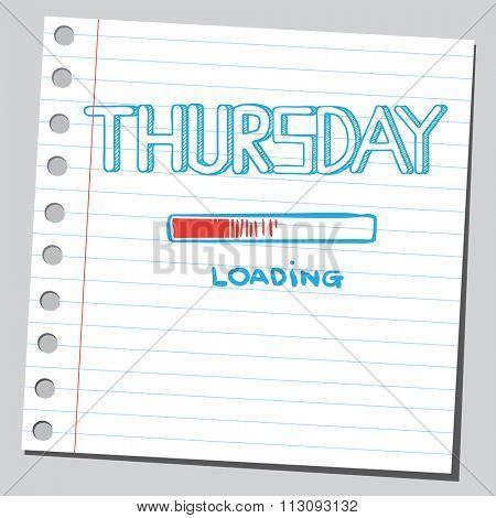 Thursday loading bar