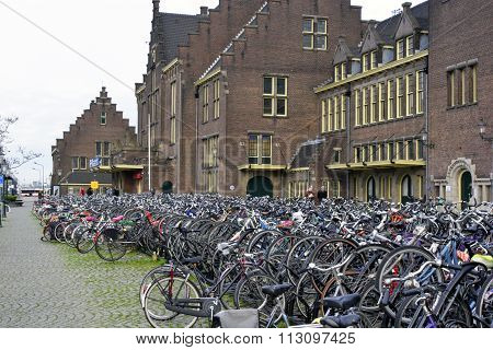 Maastricht, Netherlands - Bicycle Parking