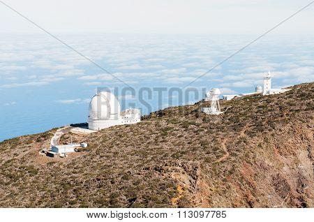 Telescopes In La Palma