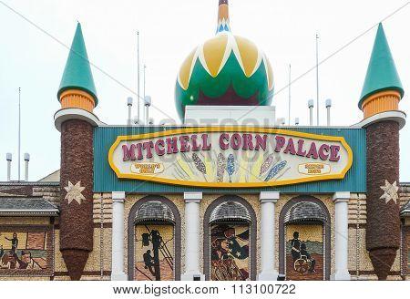 Mitchell Corn Palace - Exterior