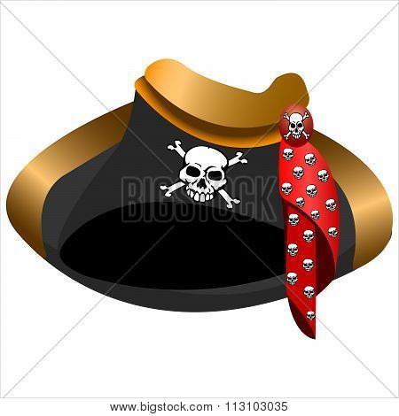Pirate Hat Tricorn