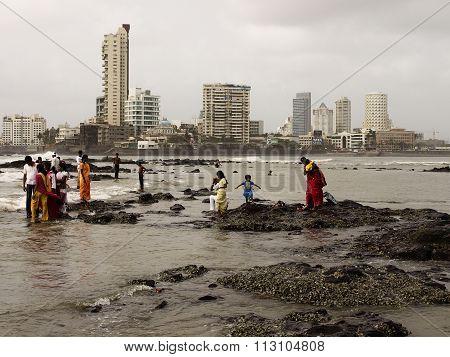 Mumbai coast view
