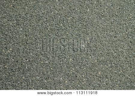 Closeup Black Foam Cushioning Texture Background