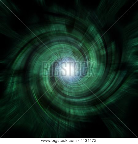Green Tunnel Vortex